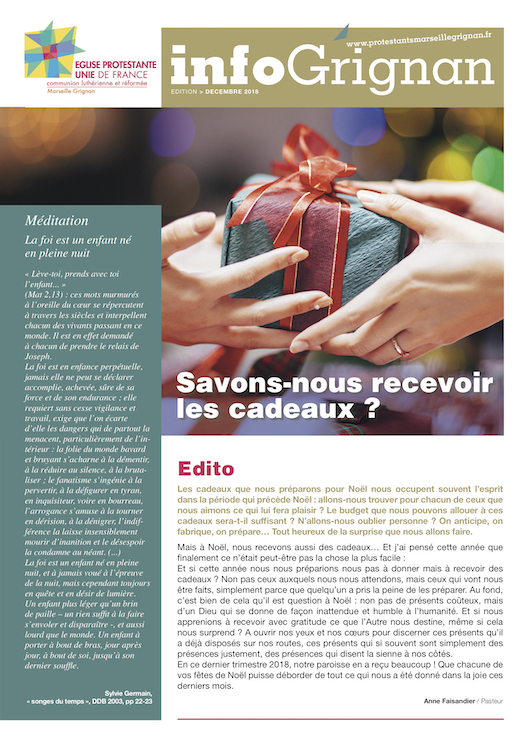 Journal de Noël 2018 InfoGrignan